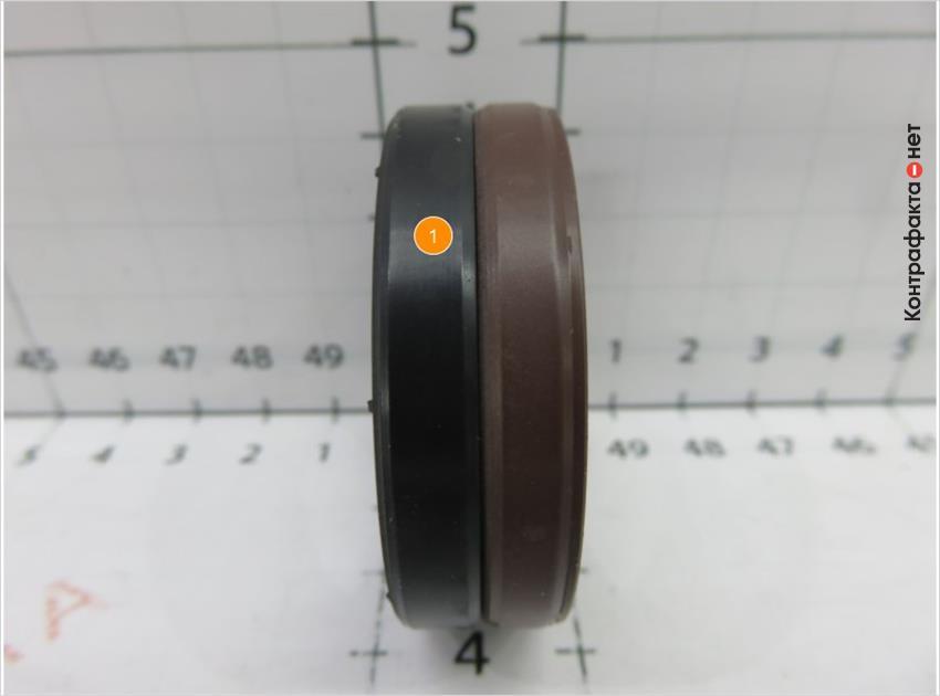 1. Окрас кольца не соответствует оригиналу.